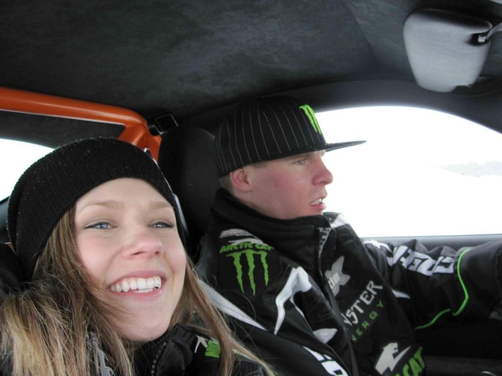 Mandi and Tucker - Porsche on Ice