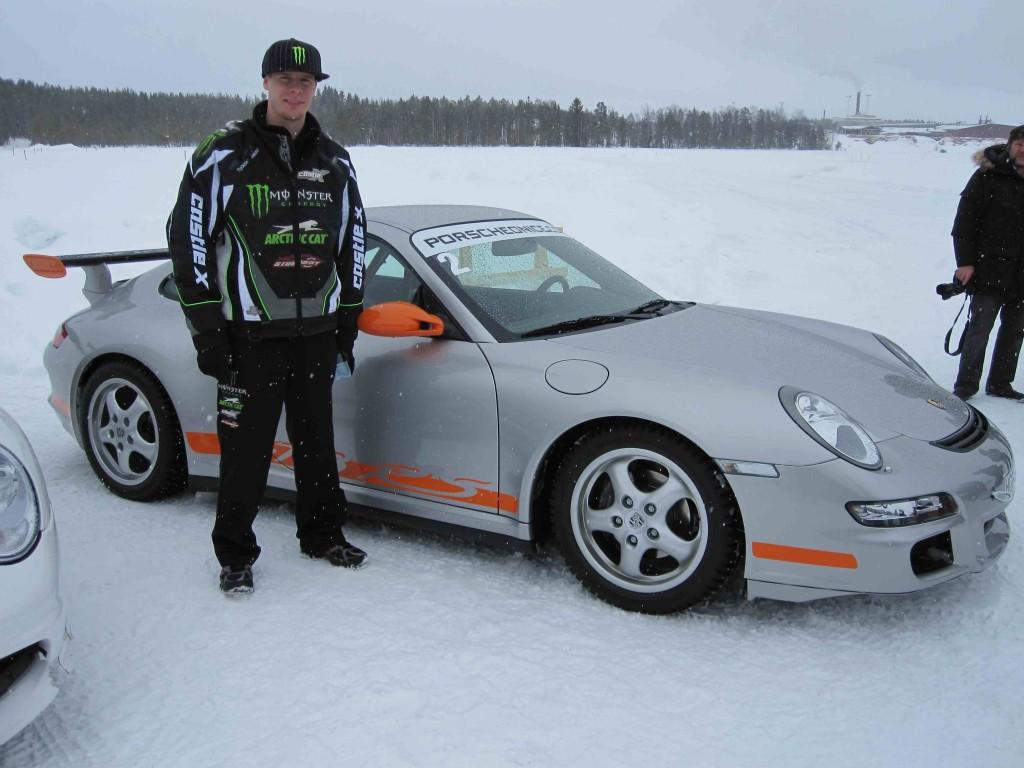 Tucker's Porsche for the Day