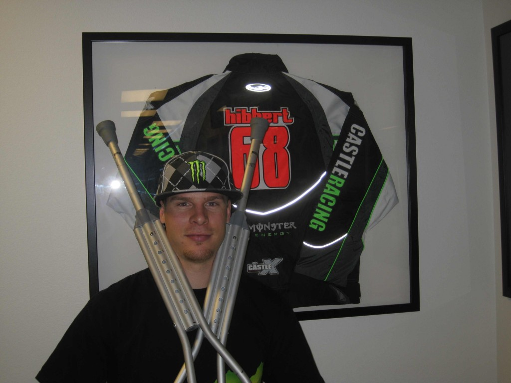 Tucker with classic gear at Monster