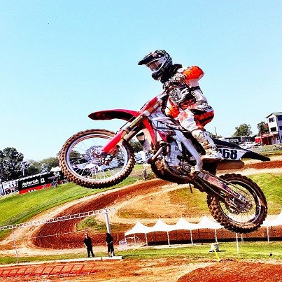 Tucker Hibbert at Steel City 2012, Racer X Ill