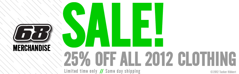 25% Off 2012 Clothing!