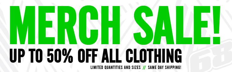 Merchandise SALE!