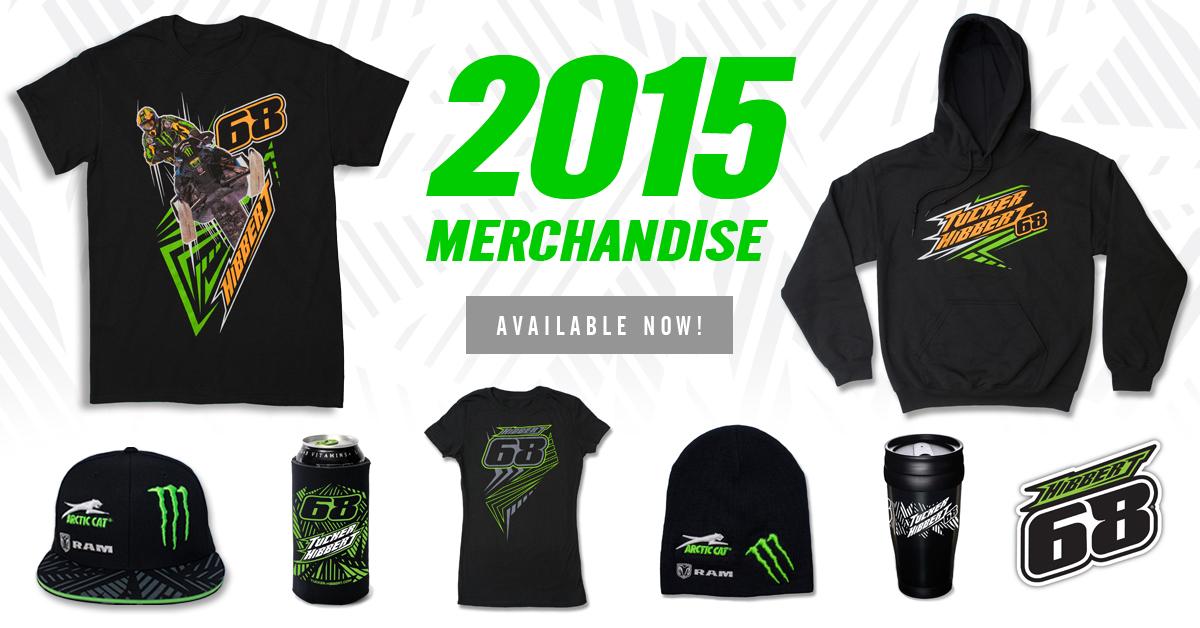 Tucker Hibbert Releases 2015 Merchandise