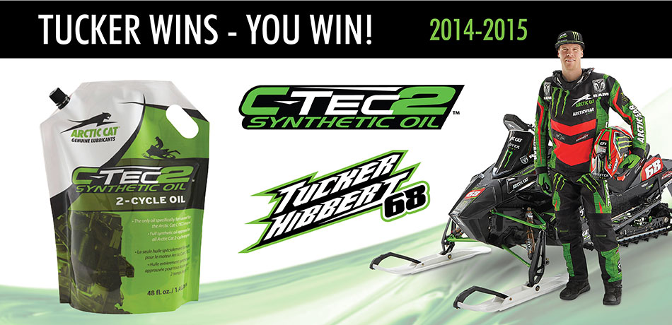 Tucker Wins – You Win C-TEC2 Oil!