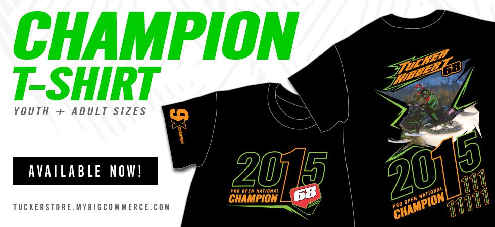 Tucker's 2015 Championship T-Shirt