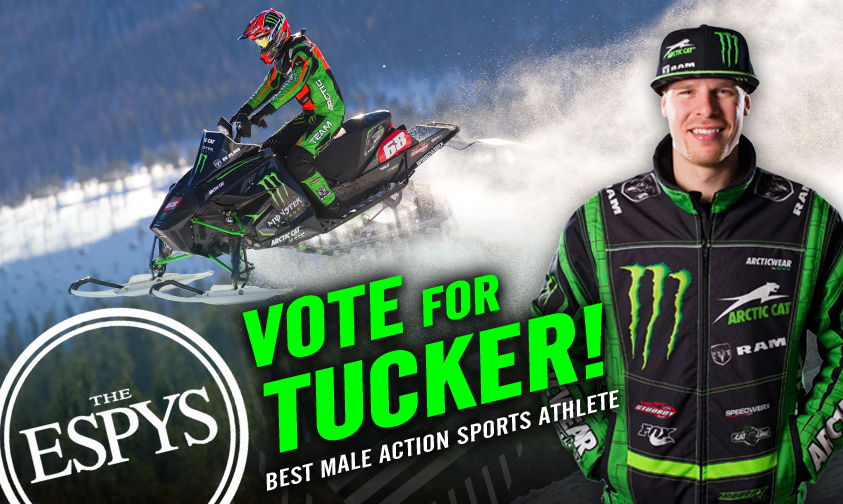 Tucker Receives ESPY Nomination