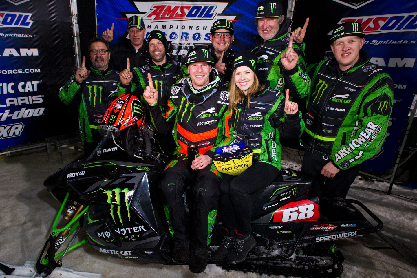 Tucker Hibbert sweeps final snocross event and clinches ninth title