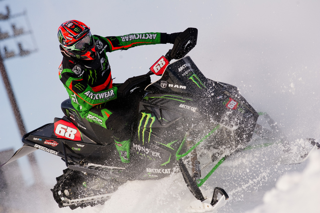 Hibbert extends points lead at Canterbury Park Snocross National