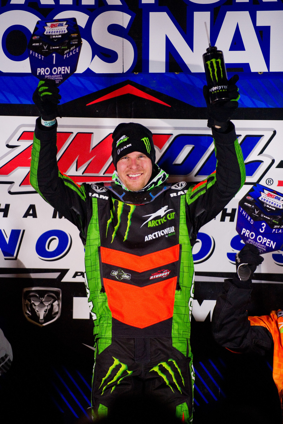 Tucker Hibbert Sweeps New York's Eastern National Snocross