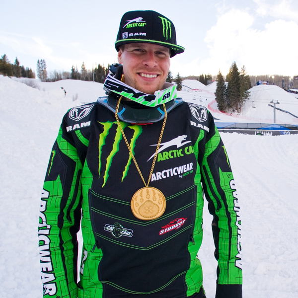 Tucker Hibbert wins historic eighth-consecutive X Games Snocross gold medal