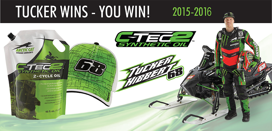 Tucker Wins – You Win! C-TEC2 Synthetic Oil