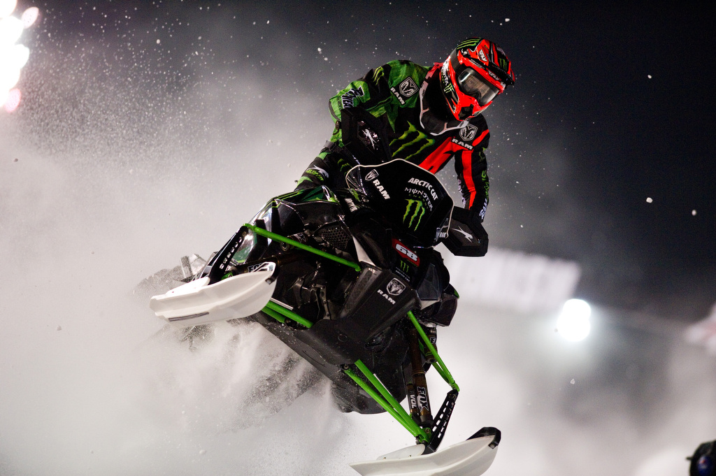 Hibbert sweeps Canterbury Park Snocross and extends points lead