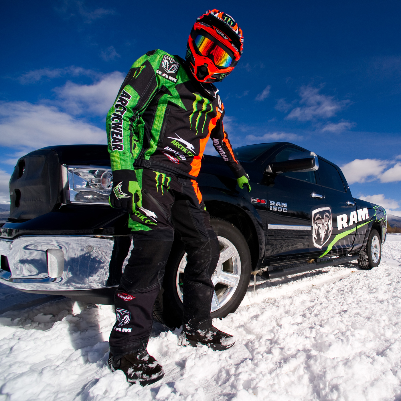 Meet Tucker and get FREE tickets to Ram Snocross!