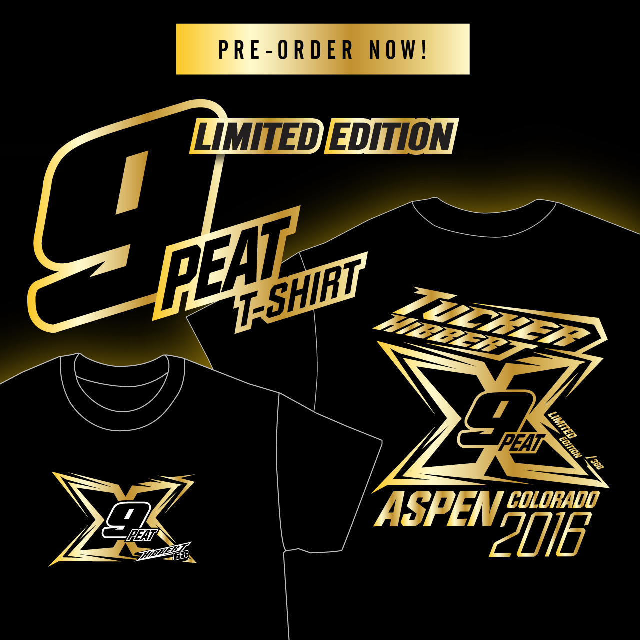 Pre-Order Tucker's Limited Edition 9-PEAT Shirt
