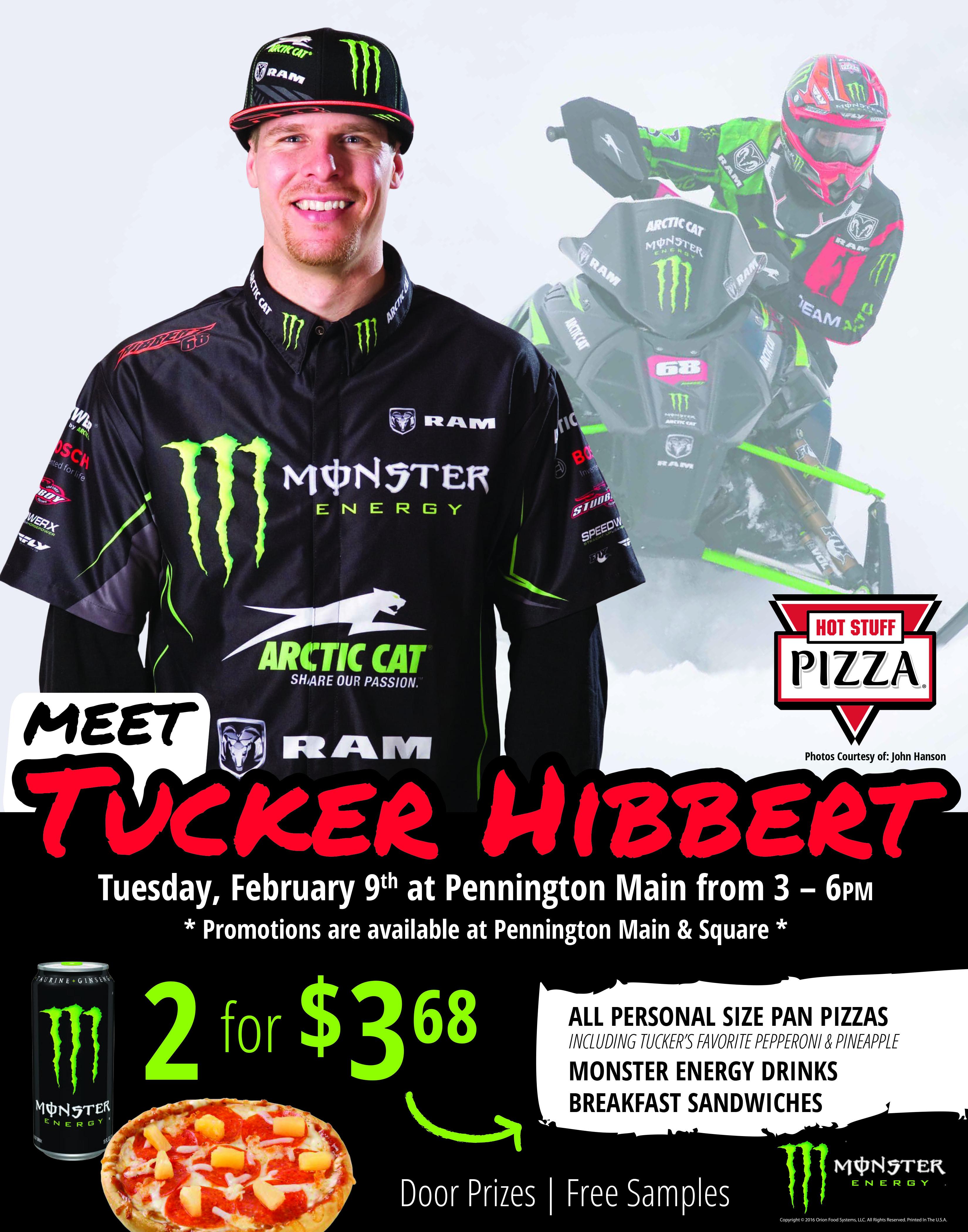 Meet Tucker February 9 in Thief River Falls, MN!