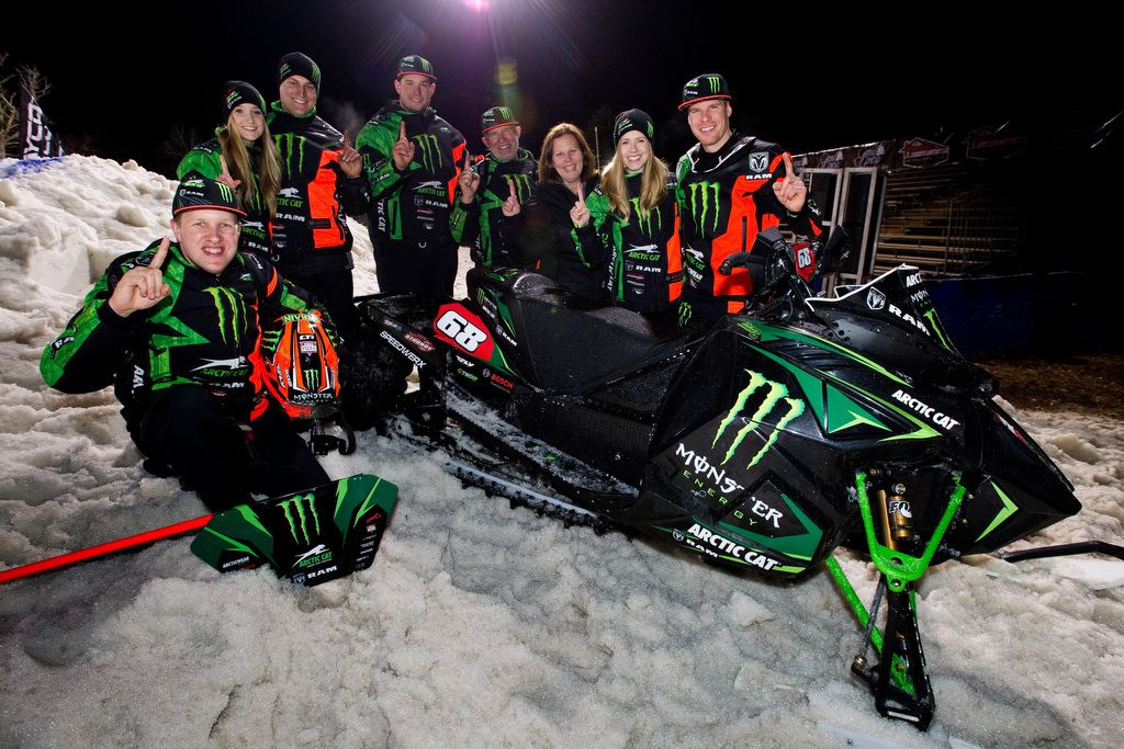 Hibbert records milestone win and 10th National Snocross title
