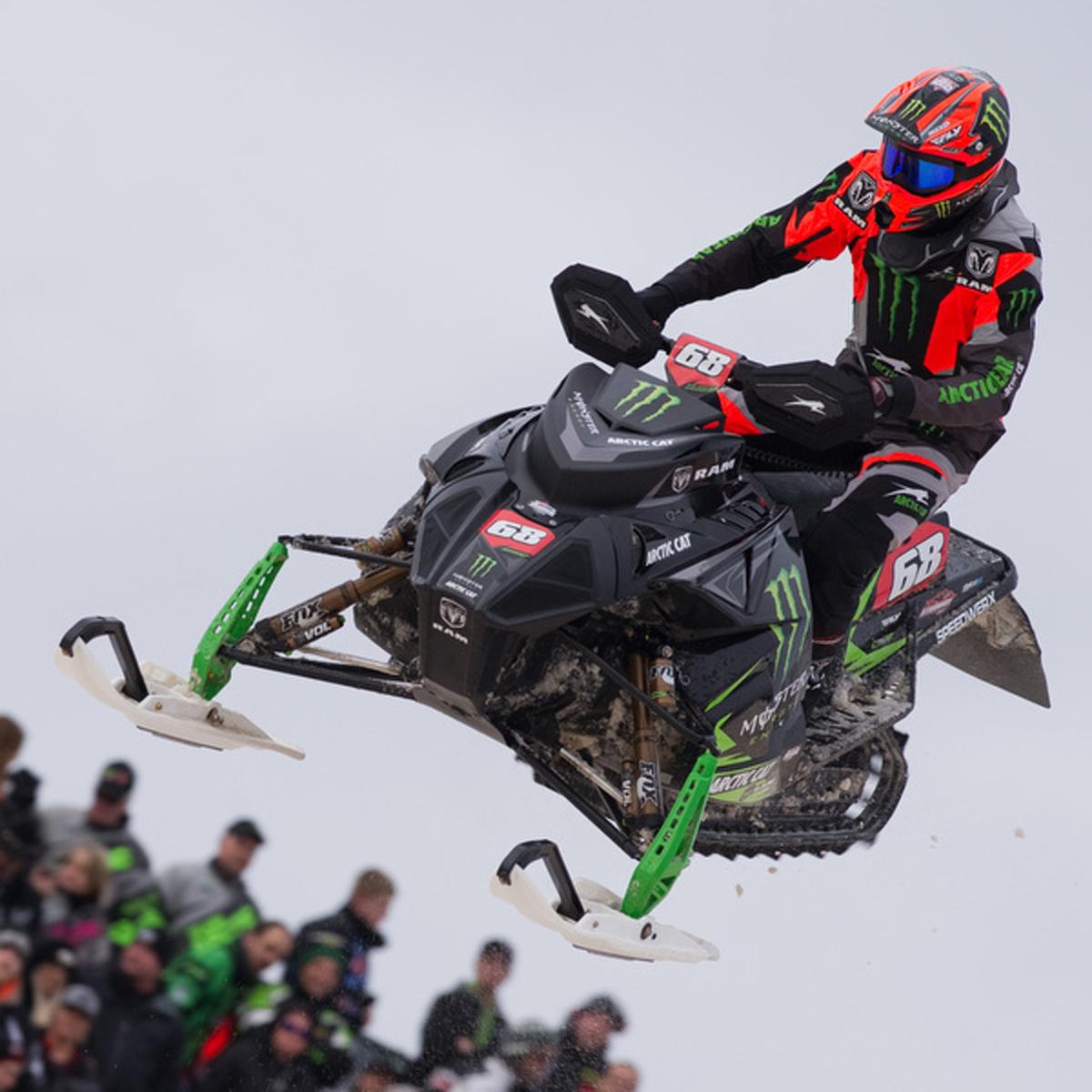 Podium finish for Hibbert at shortened Duluth National Snocross