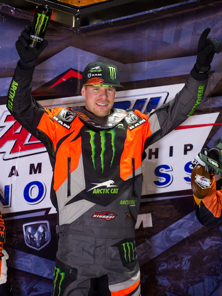Hibbert wins night two at Deadwood Snocross Shootout