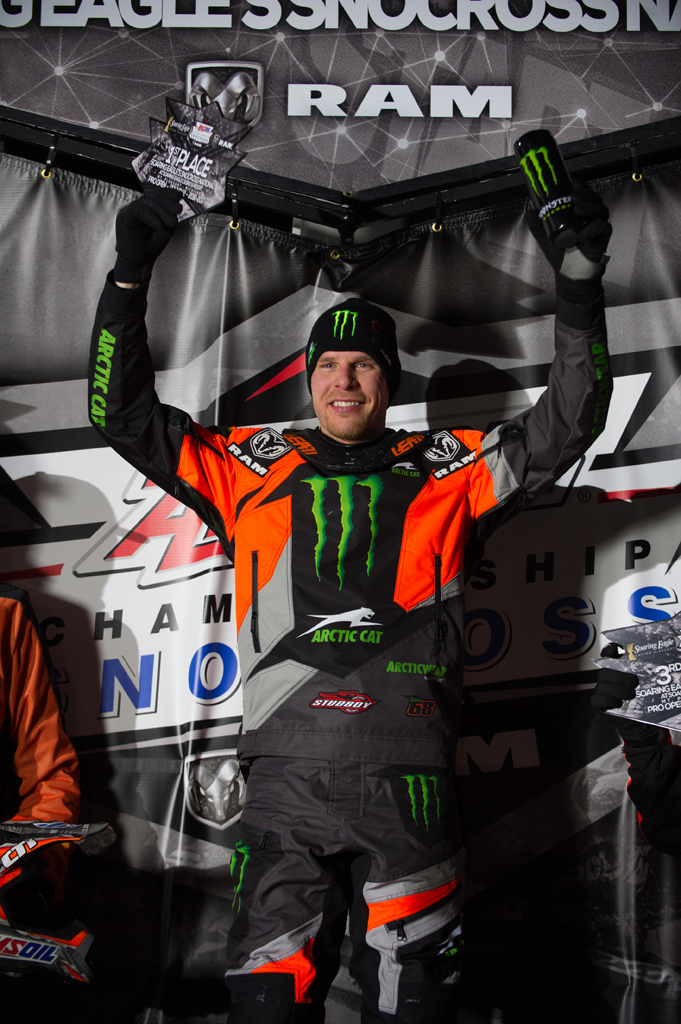 Hibbert dominates day two at Michigan Snocross National
