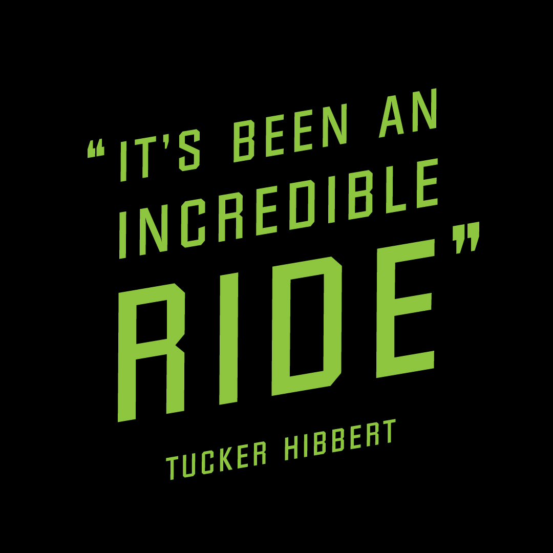 Tucker Hibbert releases Incredible Ride Collection