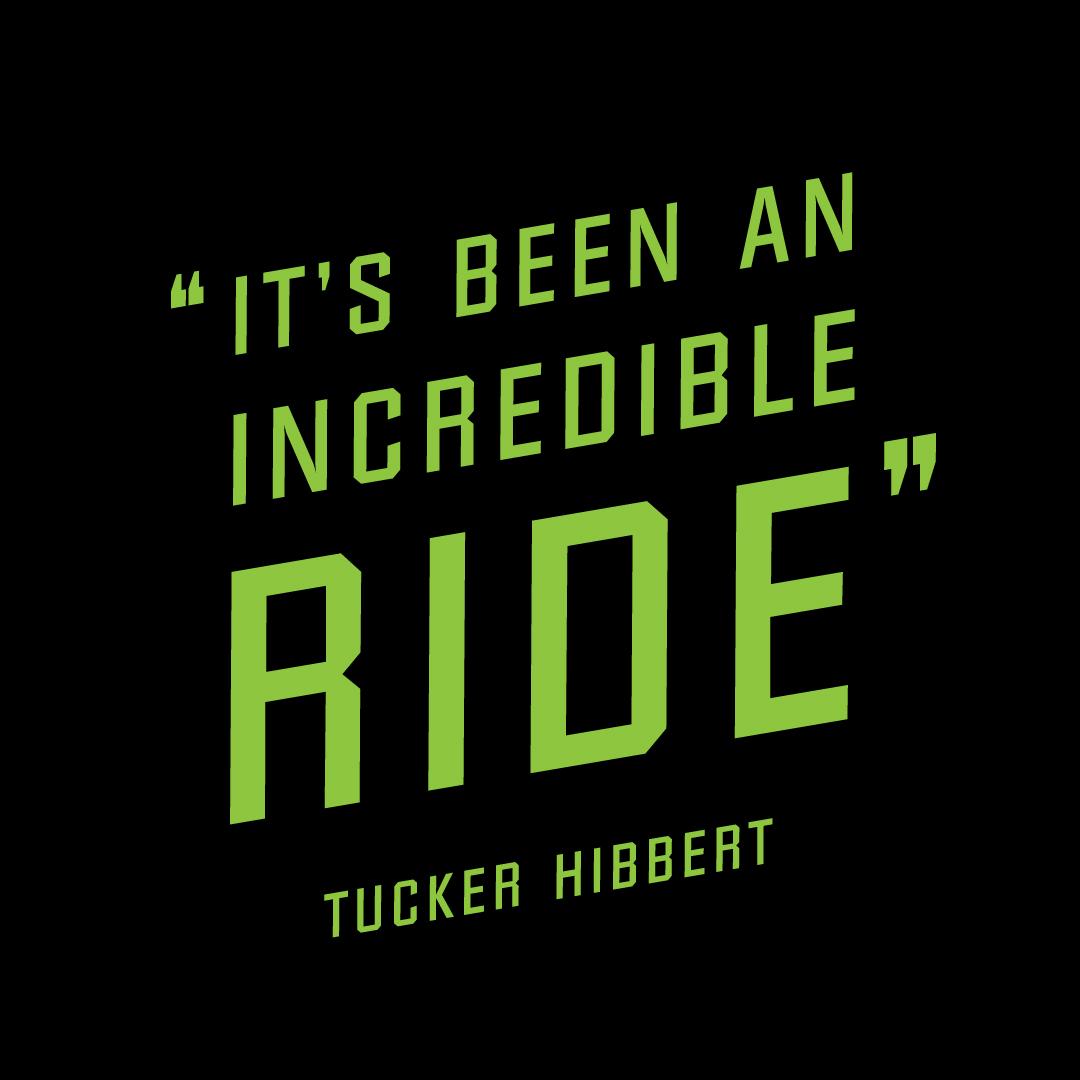 Tucker Hibbert releases Incredible Ride Collection